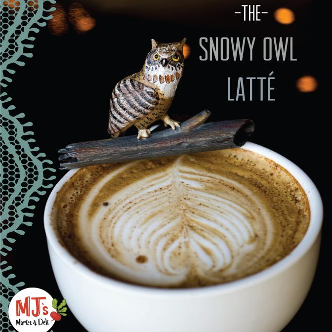Latte Snowy Owl