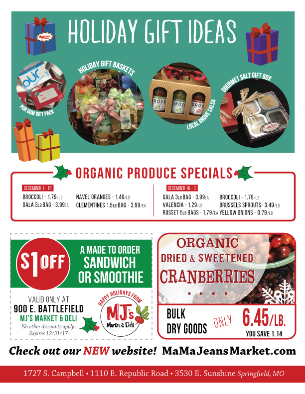 December Grocery Sales Flyer