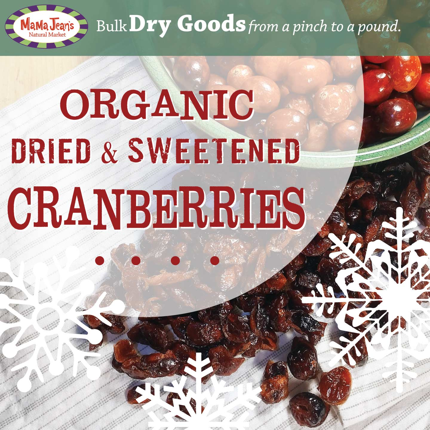 Cranberries Bulk Item