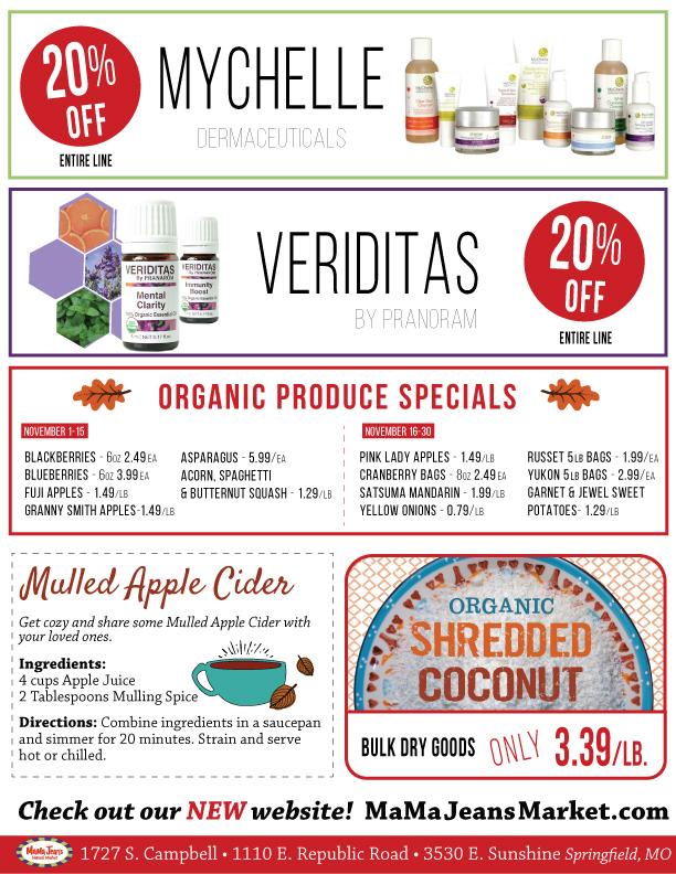 November Grocery Sales Flyer