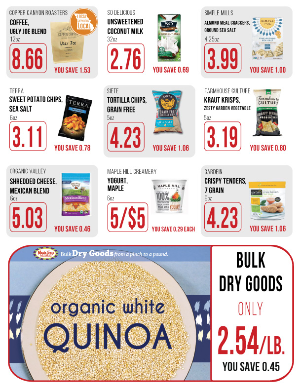 January Grocery Sales Flyer