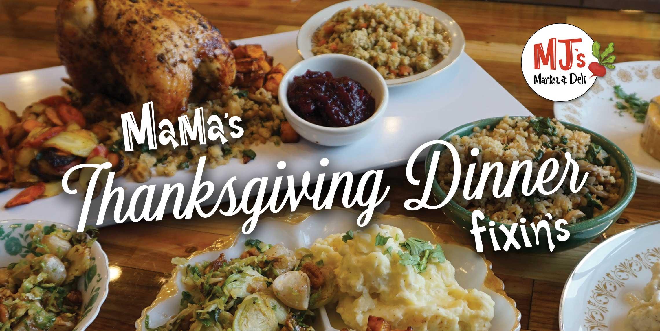 Thanksgiving Dinner Fixins