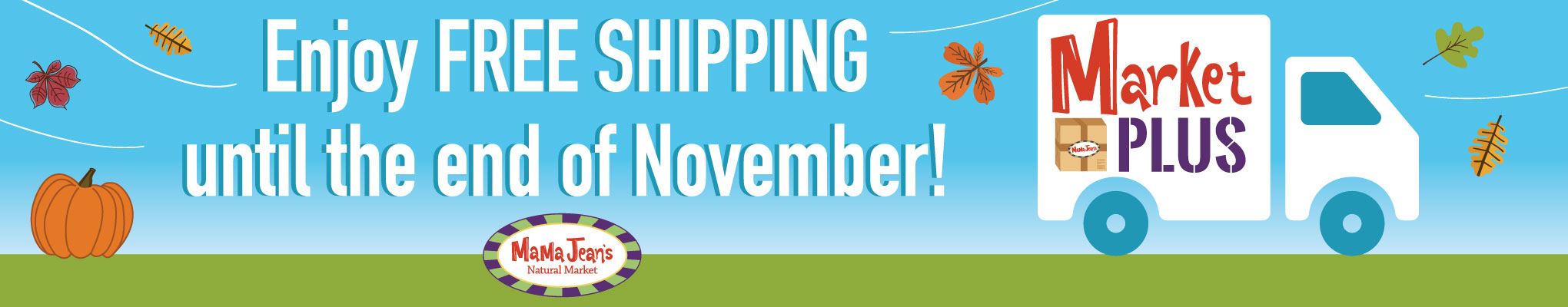 Market Plus Free Shipping In October