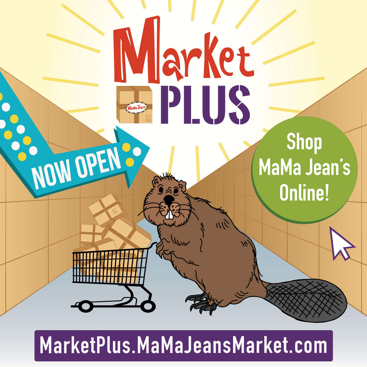 Online Shopping MaMa Jean's Market Plus